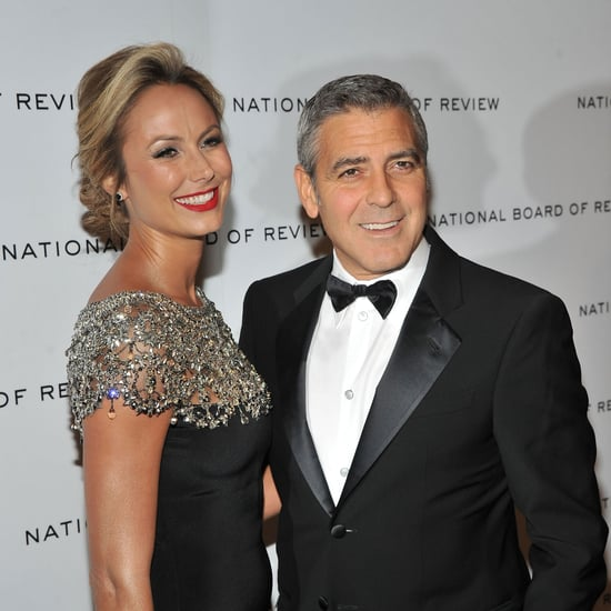 George Clooney and Stacy Keibler at Board of Review Pictures