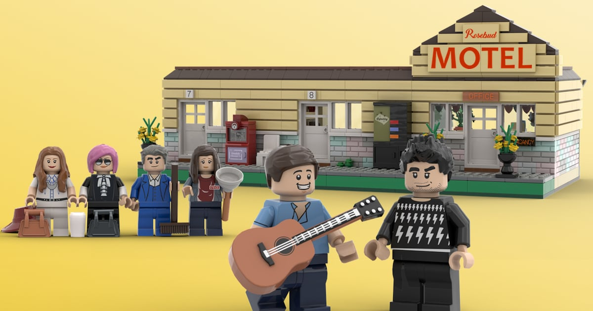 Someone Designed a Schitt's Creek Lego Set, and Yes, It Has Moira's Wig Wall