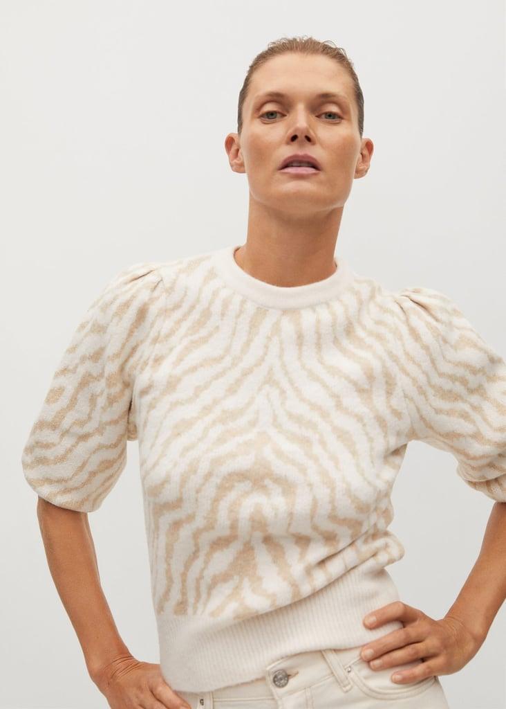 Mango Zebra Sweater