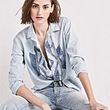 Lucky Brand Customized Chambray Shirt