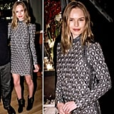 If you're going for the geometric print, then you might as well take notes from Kate Bosworth, who just so happened to nail the look.