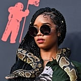 Who Brought a Snake to the 2019 MTV VMAs Red Carpet?