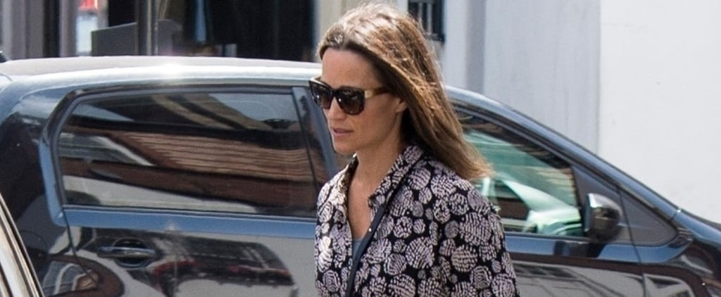 Pippa Middleton Printed Shirtdress 2018