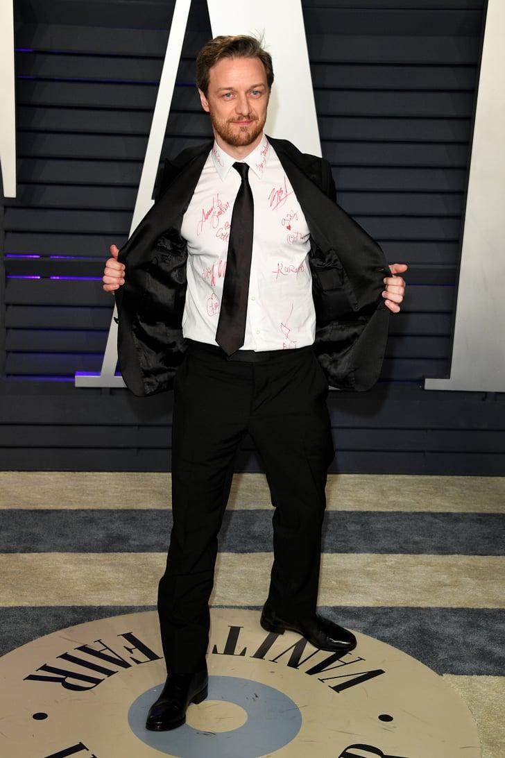 James McAvoy at the Oscars 2019 | POPSUGAR Celebrity ...