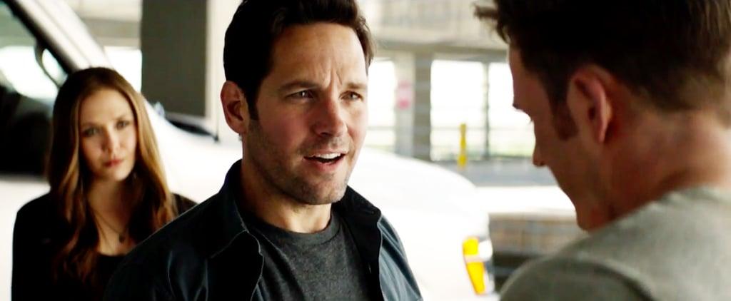 Ant-Man Meets Captain America in Civil War Clip