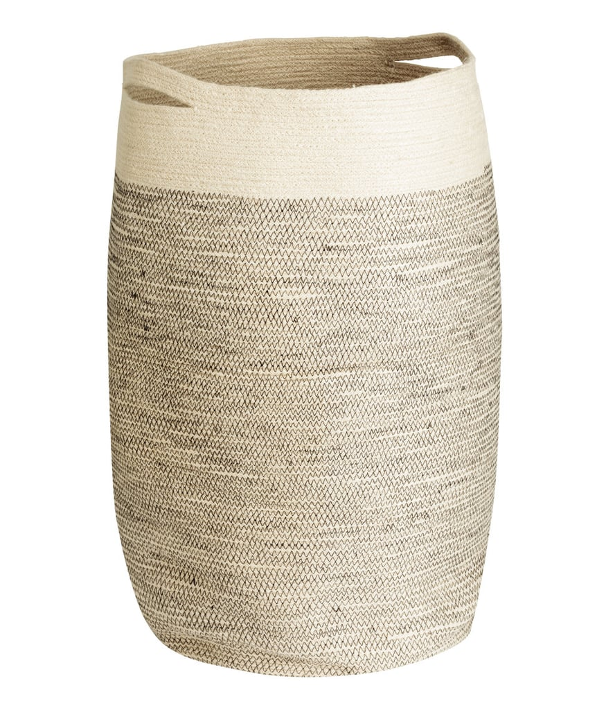 H&M Jute Laundry Basket, $44.99