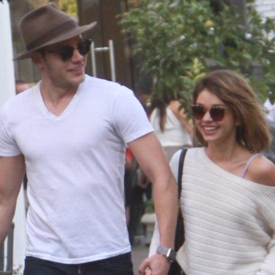 Sarah Hyland Holds Hands With Boyfriend December 2015