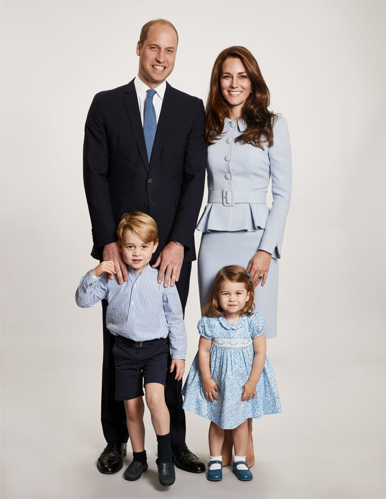 Prince William and Kate Middleton make one adorable pair, and their family is just as cute. The royal couple, who married on April 29, 2011, are loving parents to three beautiful children. After welcoming Prince George in 2013 and Princess Charlotte in 2015, the two welcomed their third child, Prince Louis, in April.  Over the years, the duo have given us sweet glimpses of their family life by releasing official portraits and attending royal engagements together. Seriously, who can forget when Kate and Will brought their kids along for their royal tour of Poland and Germany last year? Here's hoping we see even more of their family of five in the future! Take a look back at their sweetest moments ahead.      Related:                                                                                                           Kate and Will's Cutest Moments From 2018 Will Slap a Huge Smile on Your Face