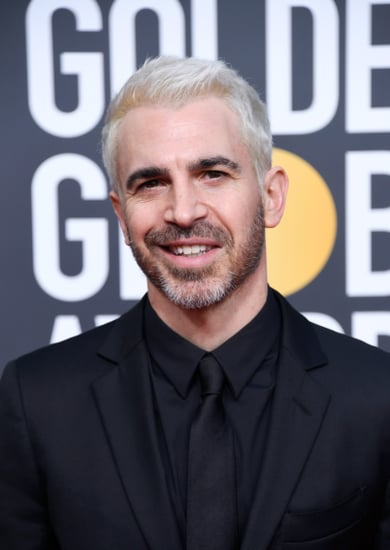 Chris Messina Blond Hair at the Golden Globes