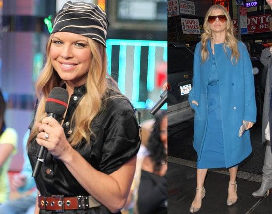 Fergie Channels Her Inner Fortune Teller on TRL