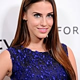 Jessica Lowndes sported a jewel-tone dress in LA.