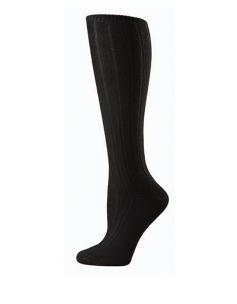 Hue Soft Ribbed Knee Socks