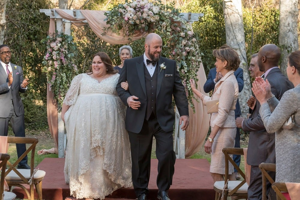 Kate\'s Wedding Dress on This Is Us | POPSUGAR Fashion