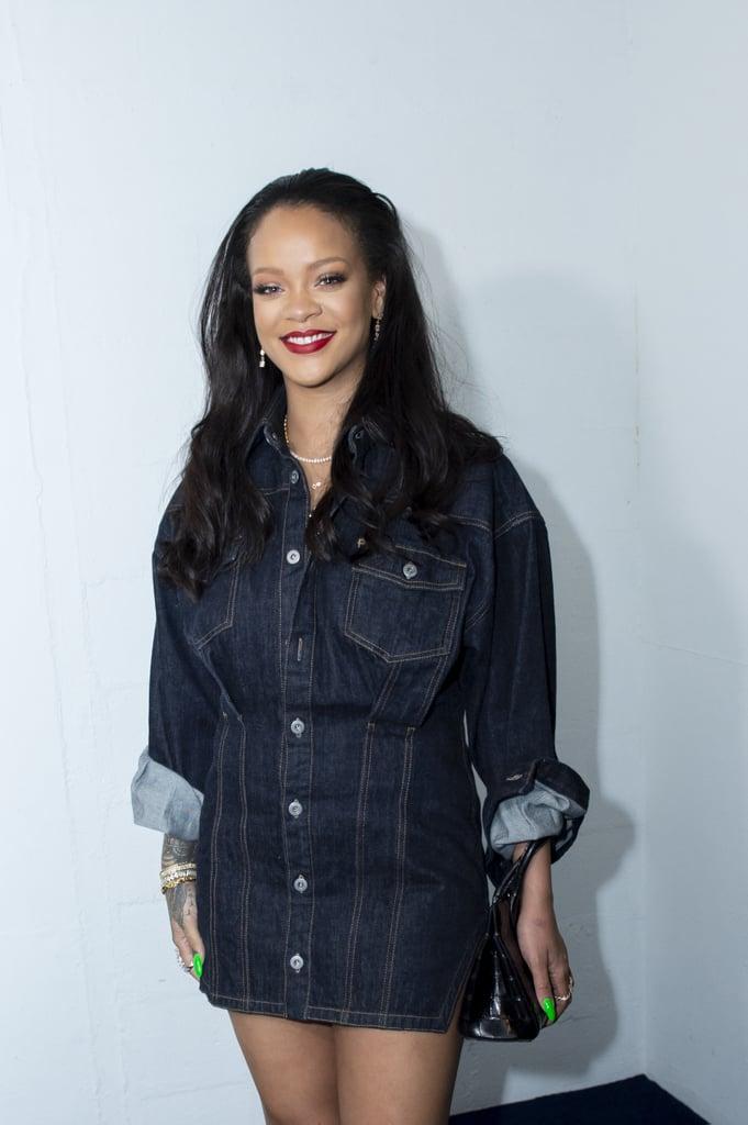 Rihanna in Summer Beauty Trends