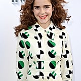 Kiernan Shipka With Brown,Curly Hair in 2017