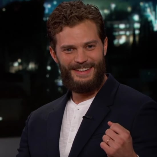 Jamie Dornan on Jimmy Kimmel Live November 2016