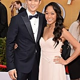Harry Shum Jr. and Shelby Rabara