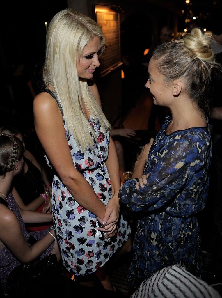 Nicole Richie and Newly Single Paris Hilton Reunite For Ronson Love