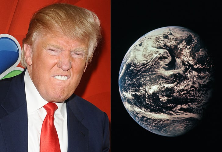 Literally All Year: Donald Trump vs. the Earth