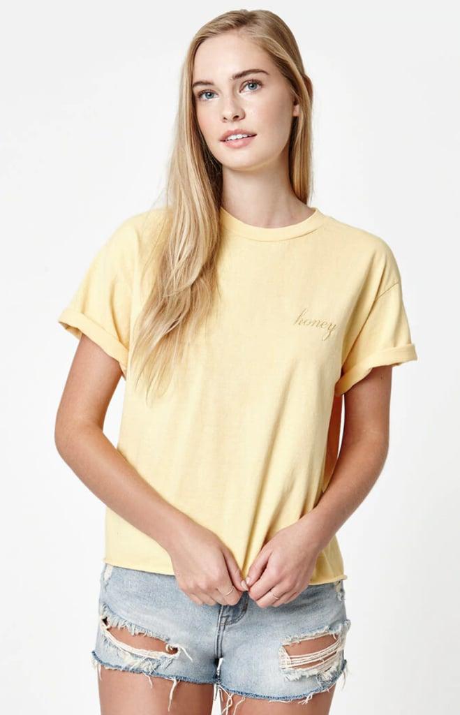 Shop a Similar Yellow T-Shirt