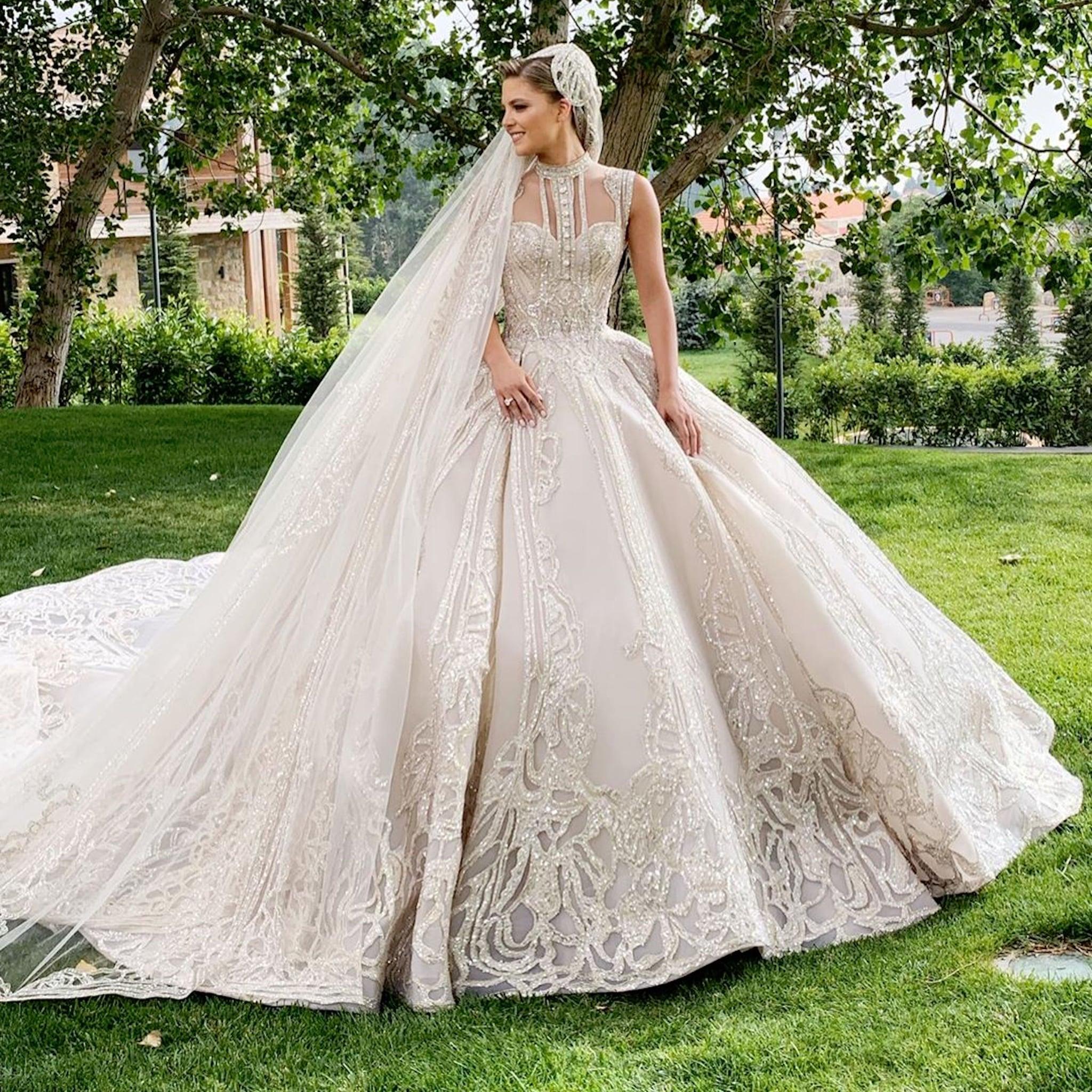 Elie Saab Jr S Wedding Photos 2019 Popsugar Fashion Australia
