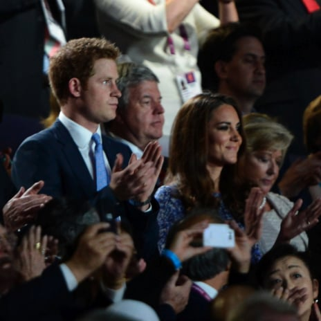 Kate Middleton and Prince Harry Pictures at 2012 London Olympics Closing Ceremony