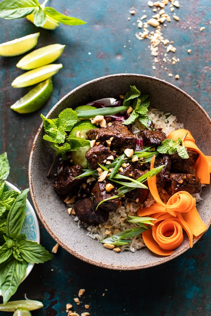Vietnamese Beef and Crispy Rice Bowl