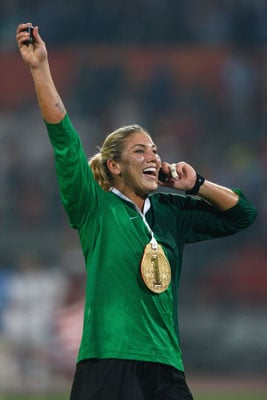 Say What? Superstar Goalie Hope Solo Doesn't Like Pink