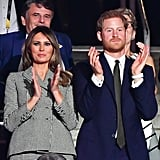 Prince Harry and Melania Trump at 2017 Invictus Games