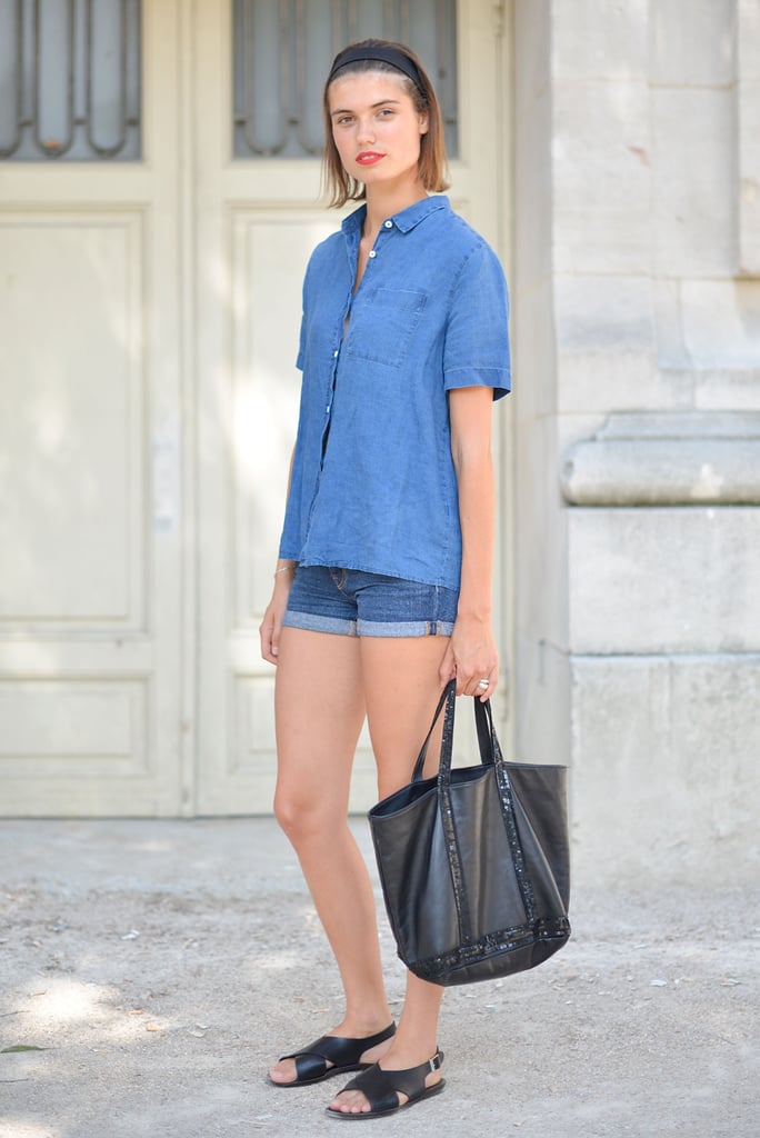 Even casual sandals and jean shorts can feel elevated with the right accessories.