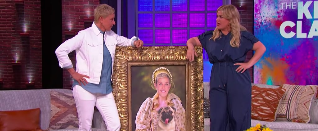 Ellen DeGeneres Surprises Kelly Clarkson on Her TV Talk Show