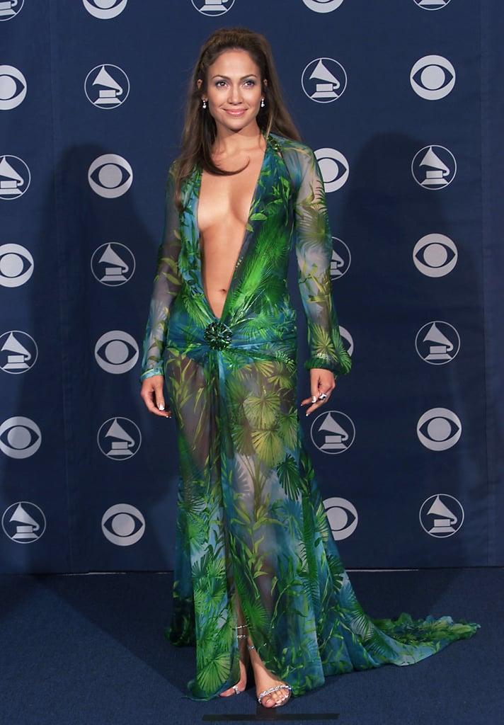 Jennifer Wearing the Versace Dress at the 2000 Grammys