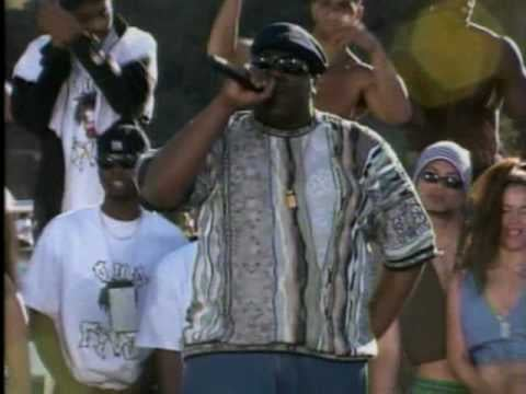 "1995: The late Notorious BIG serenades the crowd with his hit ""Big Poppa"" in Lake Havasu."