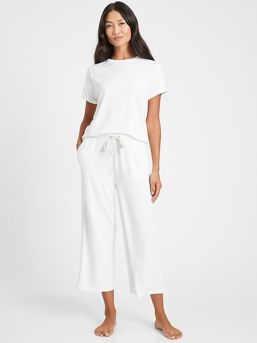 Banana Republic Baby Terry Cropped Lounge Pant