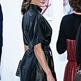 Queen Letizia's & Other Stories Leather Dress