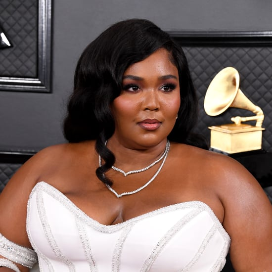 Lizzo's White Diamond Nail Art at the Grammys 2020