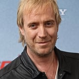 Rhys Ifans gave a smile at the Berlin photocall for The Amazing Spider-Man.