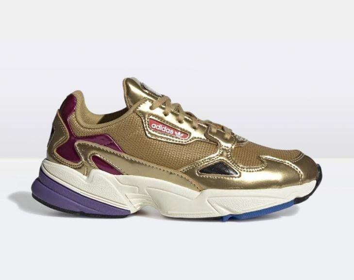 Adidas Falcon Gold ($150)