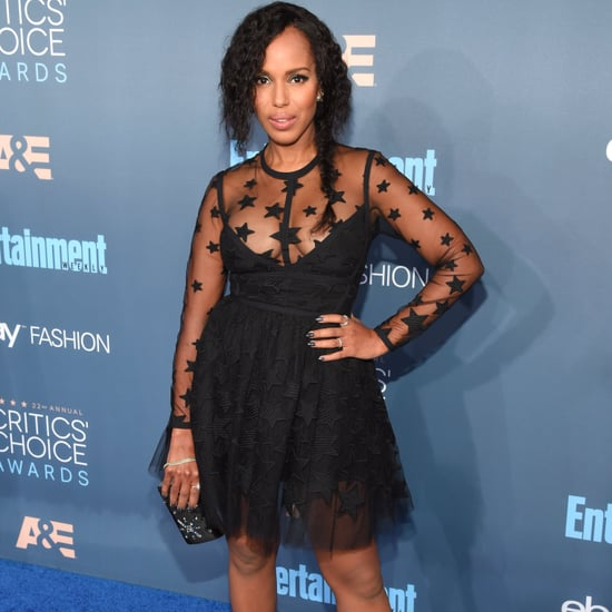 Kerry Washington's Dress at the 2017 Critics' Choice Awards