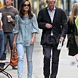 Pippa Middleton with a friend.