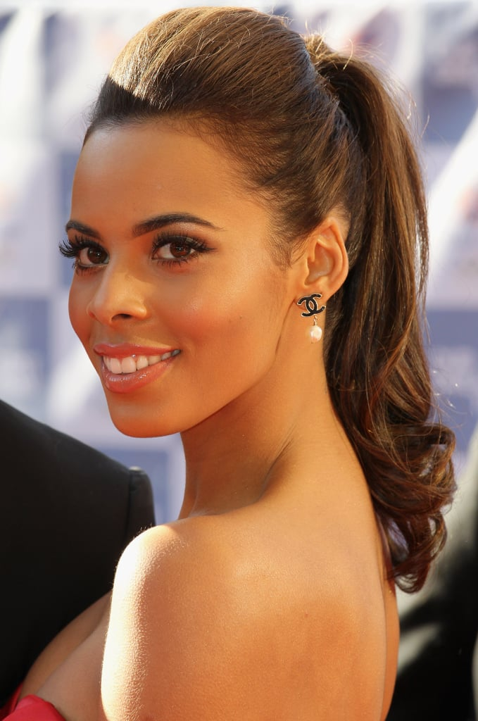 Rochelle Humes 25 Perfect Ponytails For All Occasions