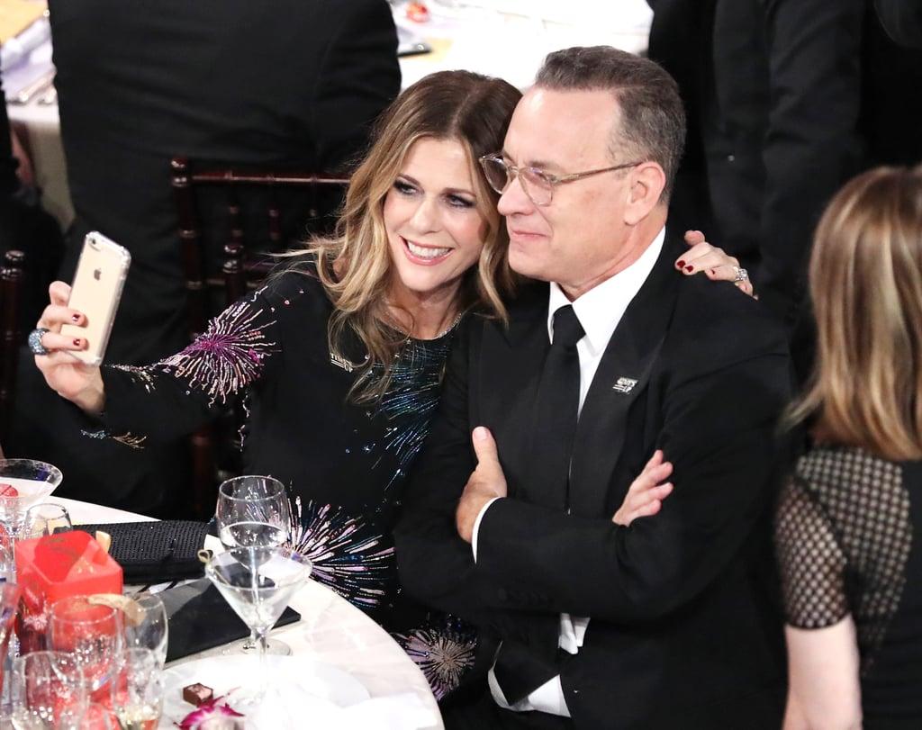 Pictured: Rita Wilson and Tom Hanks