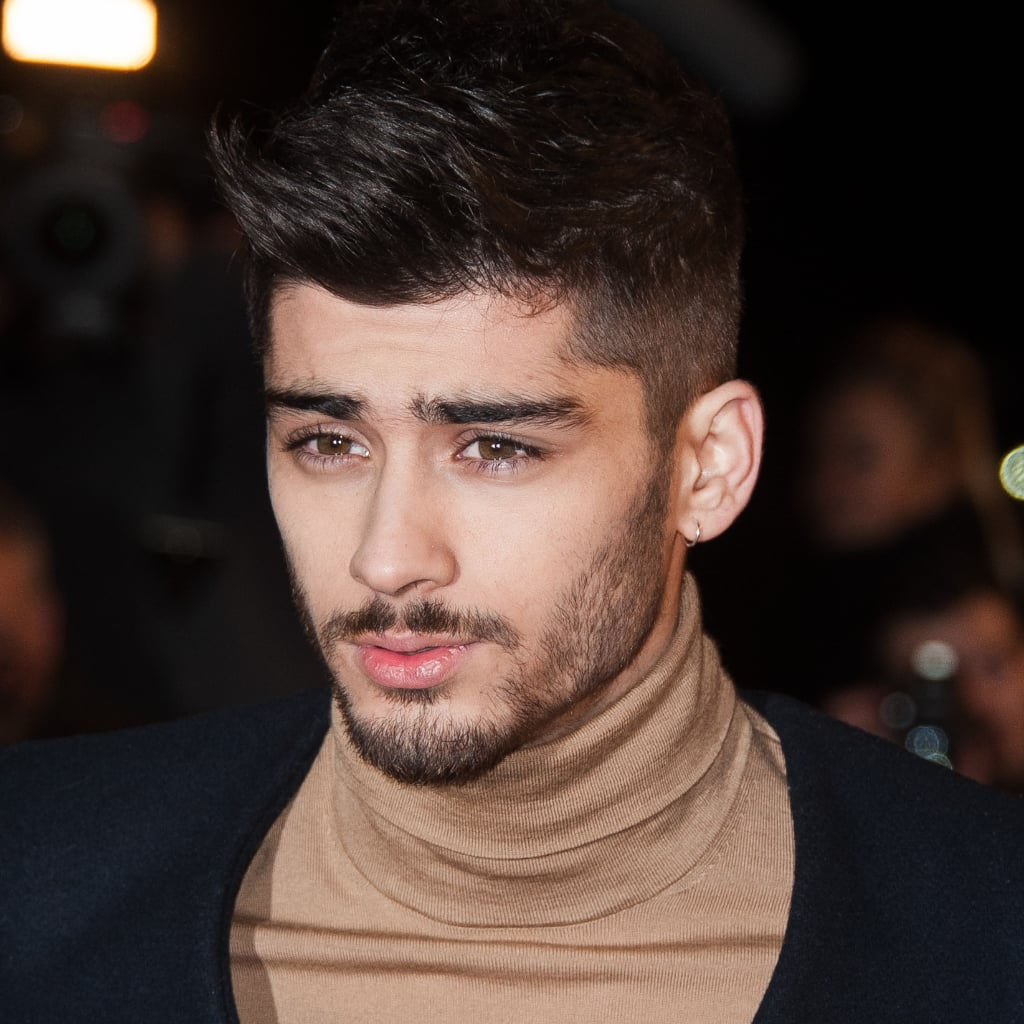 Zayn Maliks Brows One Direction Popsugar Beauty
