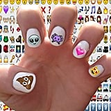 Emoji nail decals ($5)