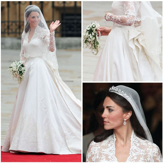 Shop kate middleton wedding dress lookalikes popsugar for Second hand wedding dresses near me