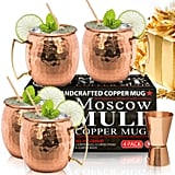 Benicci Moscow Mule Copper Mugs