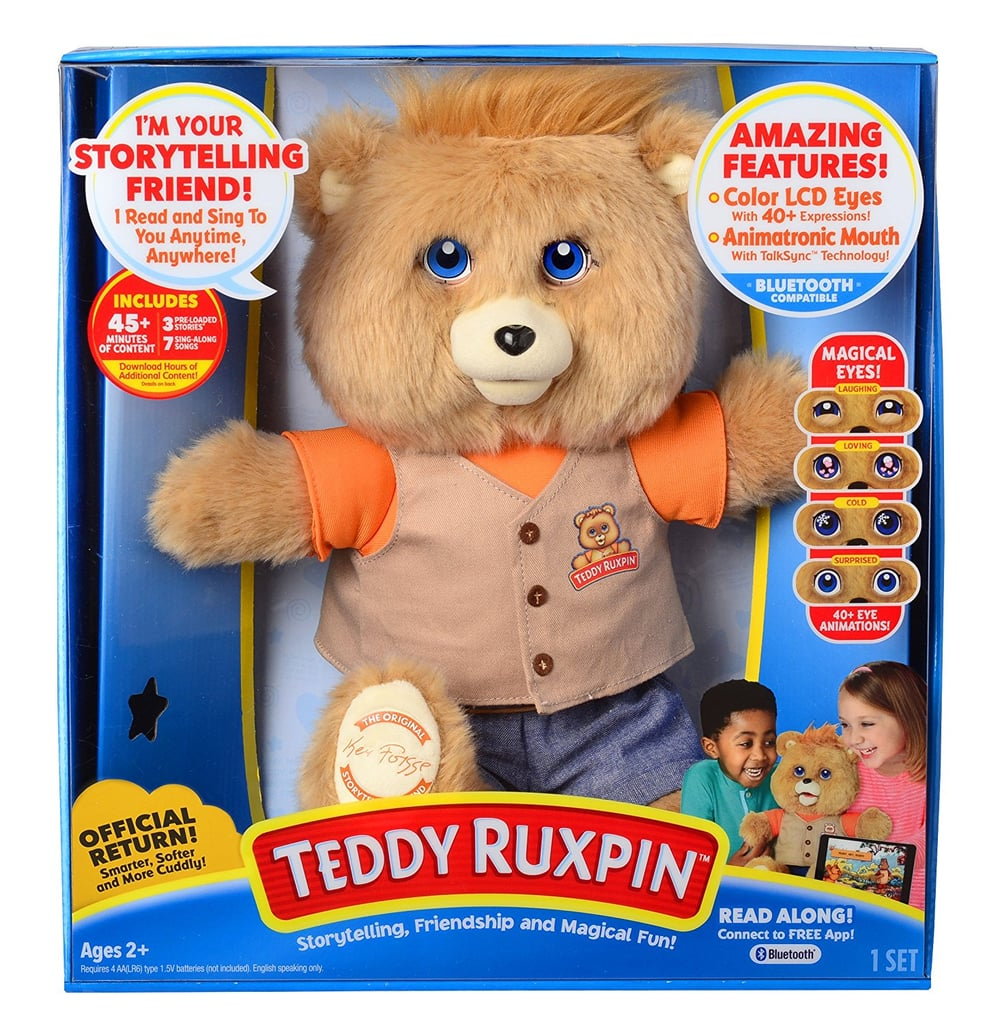 For 1-Year-Olds: Teddy Ruxpin