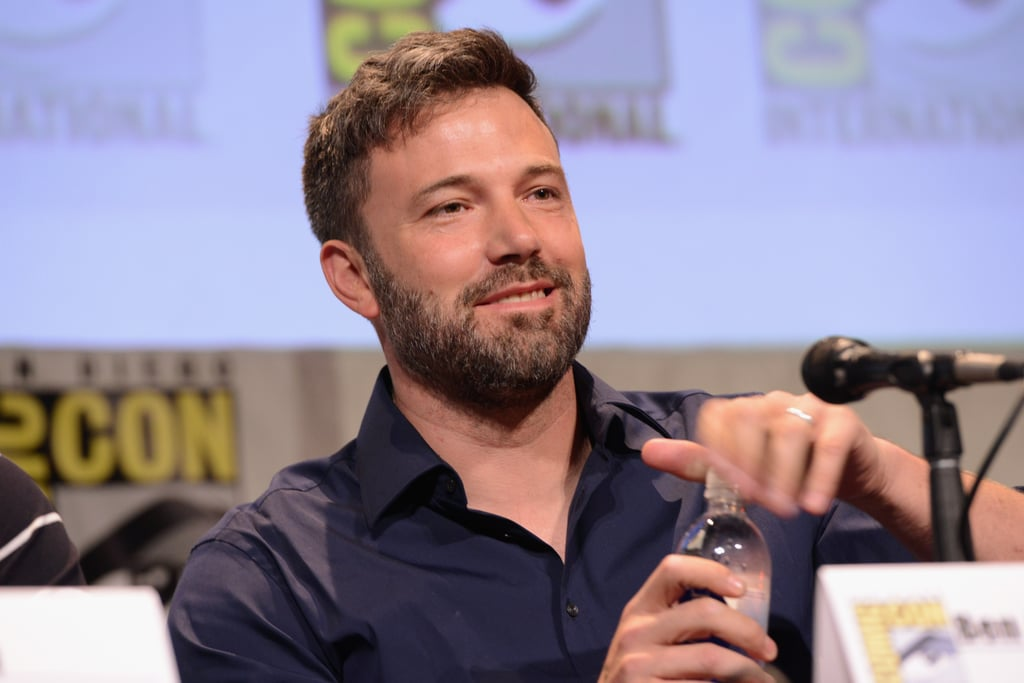 Ben Affleck Steals the Comic-Con Spotlight With His Smile and Wedding Ring