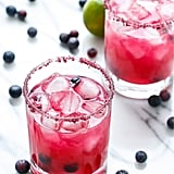 Fresh Blueberry Margaritas