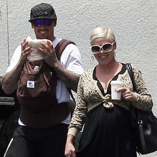 Pictures of Pink and Carey Hart With Baby Willow